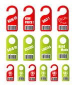 Sale Discount and Price Tag — Stok Vektör