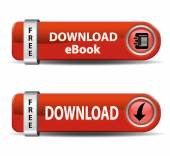 Download Ebook Buttons — Stock Vector