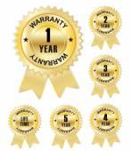 Warranty Lifetime Quality Guarantee — Stock Vector