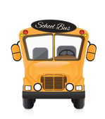 School bus illustration — Stock Vector