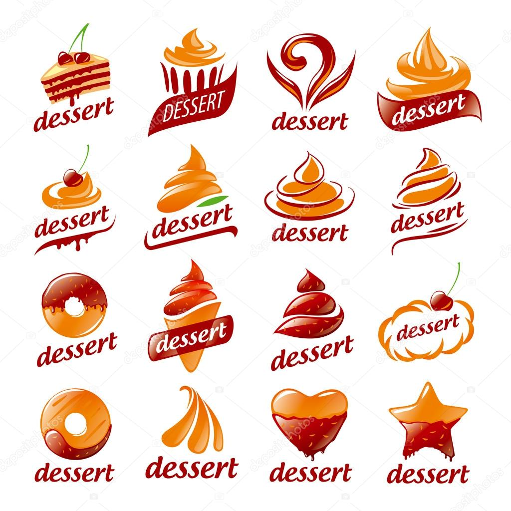 Dessert Logo Vectors Photos and PSD files  Free Download