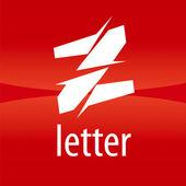 Abstract vector logo creative letter Z — Stock Vector