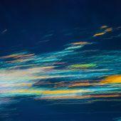 Kolorowe światła streszczenie zamazany przez ruch — Zdjęcie stockowe
