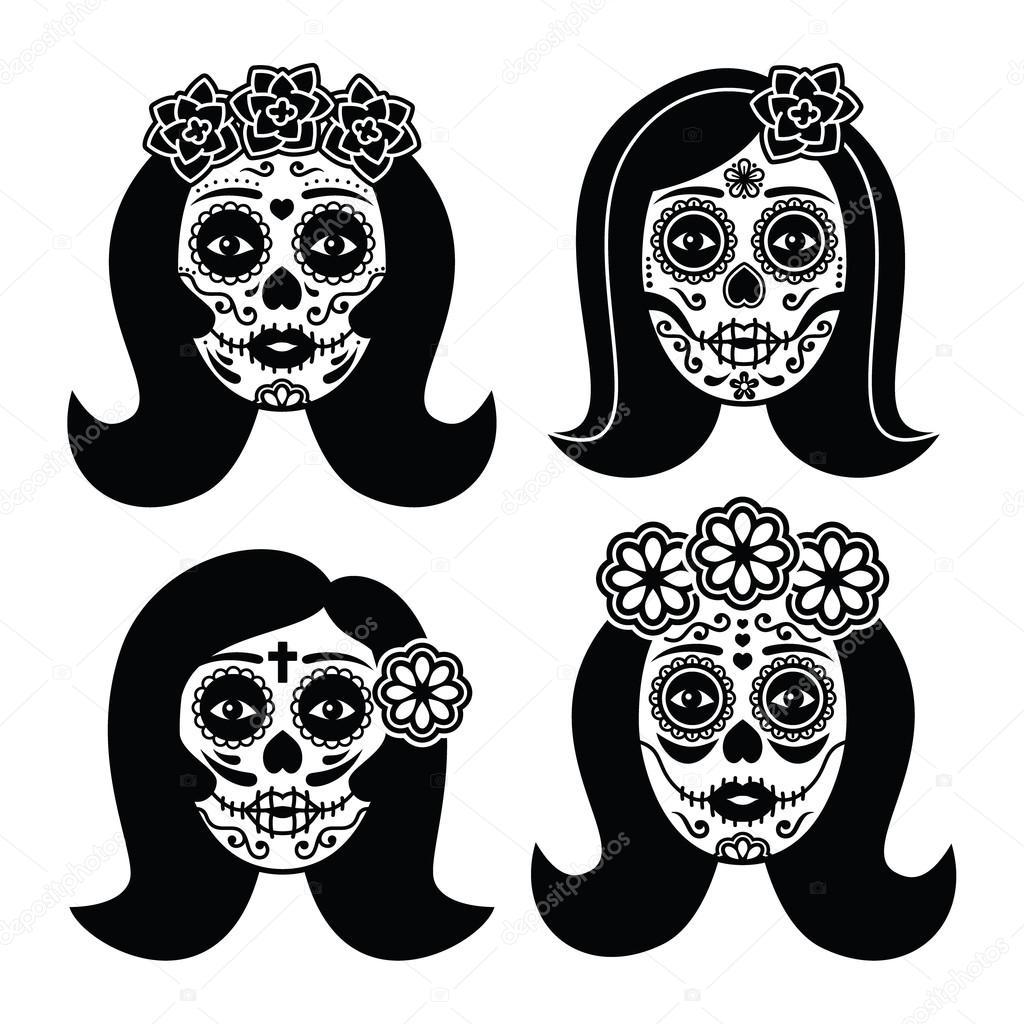 Photos de crâne de fille