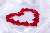 情人节那天的背景 — 图库照片