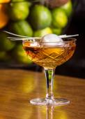 Whiskey cocktail — Стоковое фото