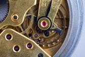 Old clock mechanizm — Stock Photo