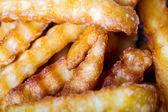 Stekt potatis — Stockfoto
