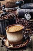 Retro coffee — Stock Photo