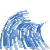 Fundo azul vector — Vetor de Stock