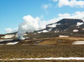 Iceland, Krafla volcanic area — Stock Photo