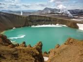 Iceland, Krafla volcanic area — Stock Photo