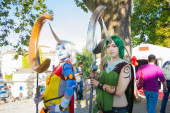 Cosplay in Lucca — Stock Photo