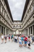 Uffizi museum — Stock Photo