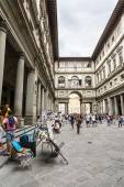 Uffizi museum — Stock Photo