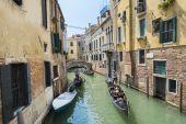 Venetian gondoliers — Stock Photo