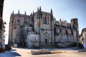 Old cathedral in Guarda — Stock fotografie