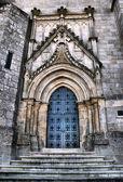 Entrada da Catedral da Guarda — Fotografia Stock