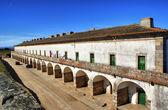 Former military barracks in Almeida historical village — Stock Photo