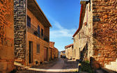 Castelo Rodrigo historical village — Stock Photo