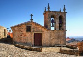 Rocamador church in Castelo Rodrigo — Stock Photo
