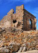 Ruins of Cristovao de Moura palace in Castelo Rodrigo — Stock Photo