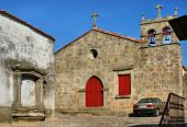 Santa Maria do Castelo church in Pinhel — Stock Photo