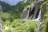 Waterfall in the Formazza valley — Stockfoto