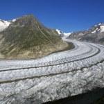 Glacier of Aletsch, Switzerland — Stock Photo #64499927