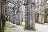 Gothic architecture of a church — Stock Photo