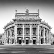 Burgtheater (Imperial Court Theatre) in Vienna, Austria — Stock Photo #58673629