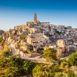 Ancient town of Matera at sunrise, Basilicata, Italy — Stock Photo #58675117