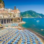 Постер, плакат: Town of Atrani Amalfi Coast Campania Italy