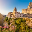 Ancient town of Matera at sunrise, Basilicata, Italy — Stock Photo #58675423