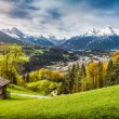 Idyllic mountain landscape in the Alps — Stock Photo #58675541