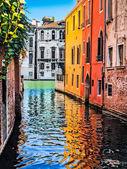 Romantic scene in Venice, Italy — Stock Photo