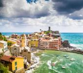 Town of Vernazza, Cinque Terre, Italy — Stock Photo