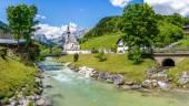 Ramsau, Nationalpark Berchtesgadener Land, Bavaria, Germany — Stock Photo