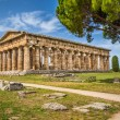 Temple of Hera at famous Paestum Archaeological Site, Province of Salerno, Campania, Italy — Stock Photo #68472033