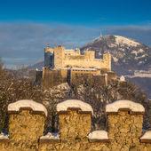 Hohensalzburg Fortress in Salzburg, Salzburger Land, Austria — Stock Photo