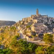 Ancient town of Matera at sunrise, Basilicata, Italy — Stock Photo #68482047