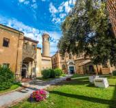 Famous Basilica di San Vitale in Ravenna, Italy — Stock Photo
