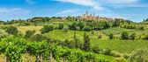 Средневековый город Сан-Джиминьяно, Тоскана, Италия — Стоковое фото