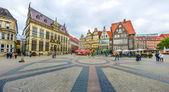 Famous Bremen Market Square in the Hanseatic City Bremen, Germany — Stock Photo
