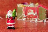 Santa Claus's figurine — Stock Photo