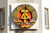 National Emblem of the German Democratic Republic — Stock Photo