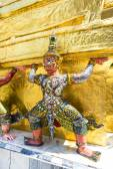 Temple Statue Demon — Stock Photo