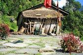Tradiční usedlost. ghandruk nepál. 0595 — Stock fotografie