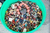Beads for necklace making. Pokhara-Nepal. 0667 — Stock Photo