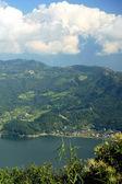 Lake Phewa from Ananda Hill. Pokhara-Nepal. 0688 — Stock Photo